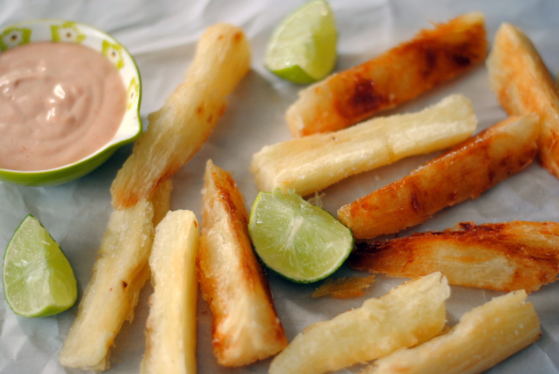 Yuca Or Cassava Fries
