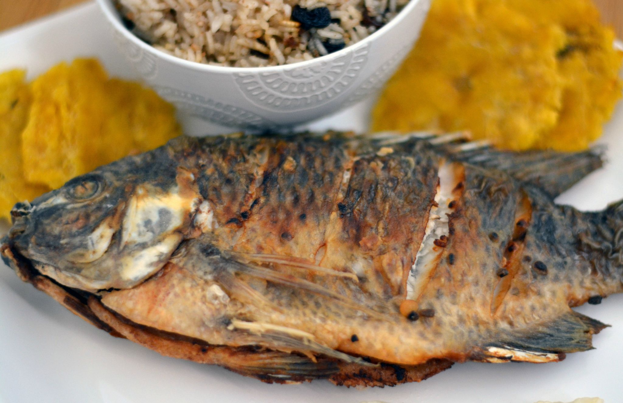 Colombian Fried Whole Fish
