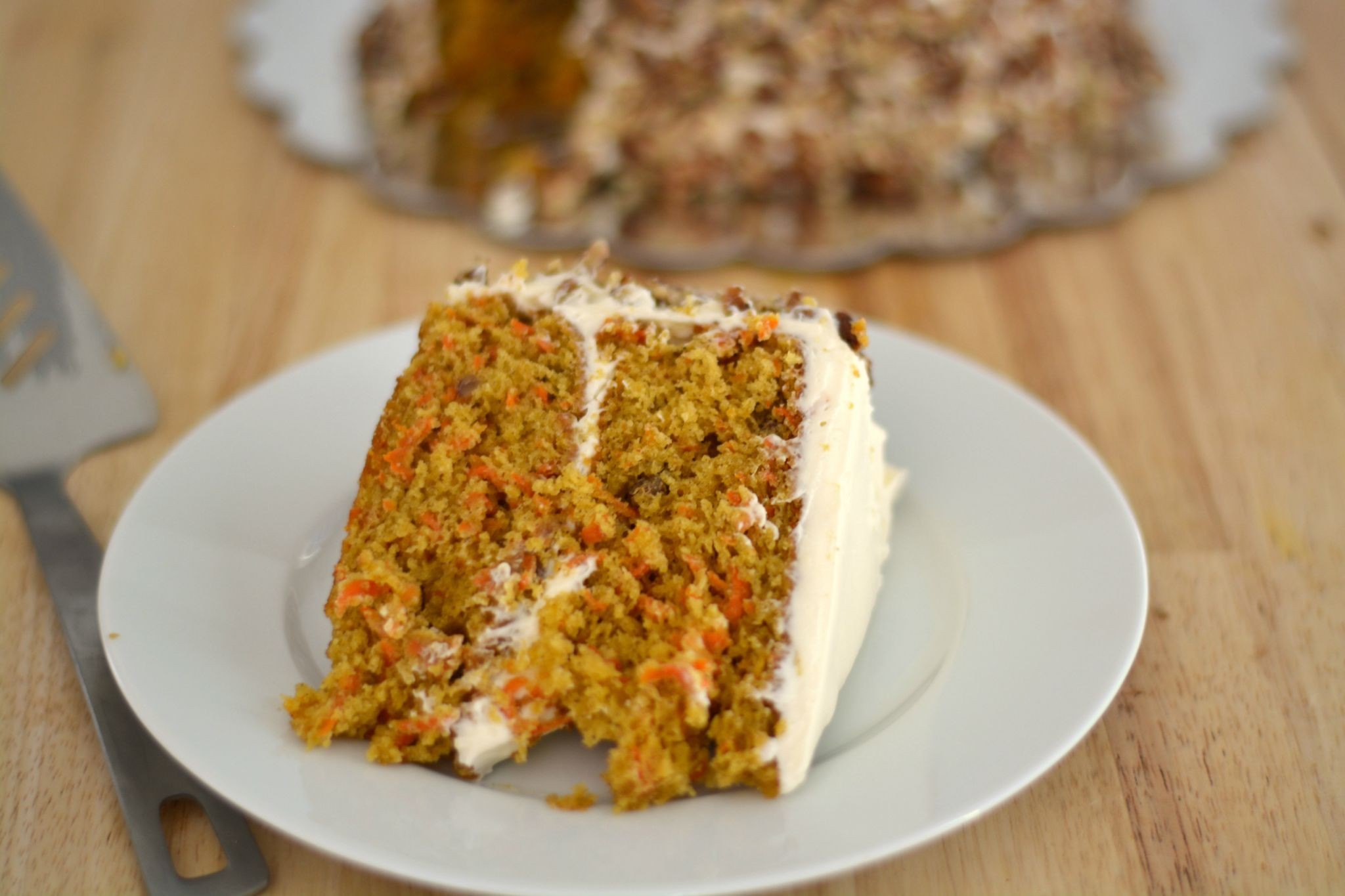Torta o Pastel de Zanahoria