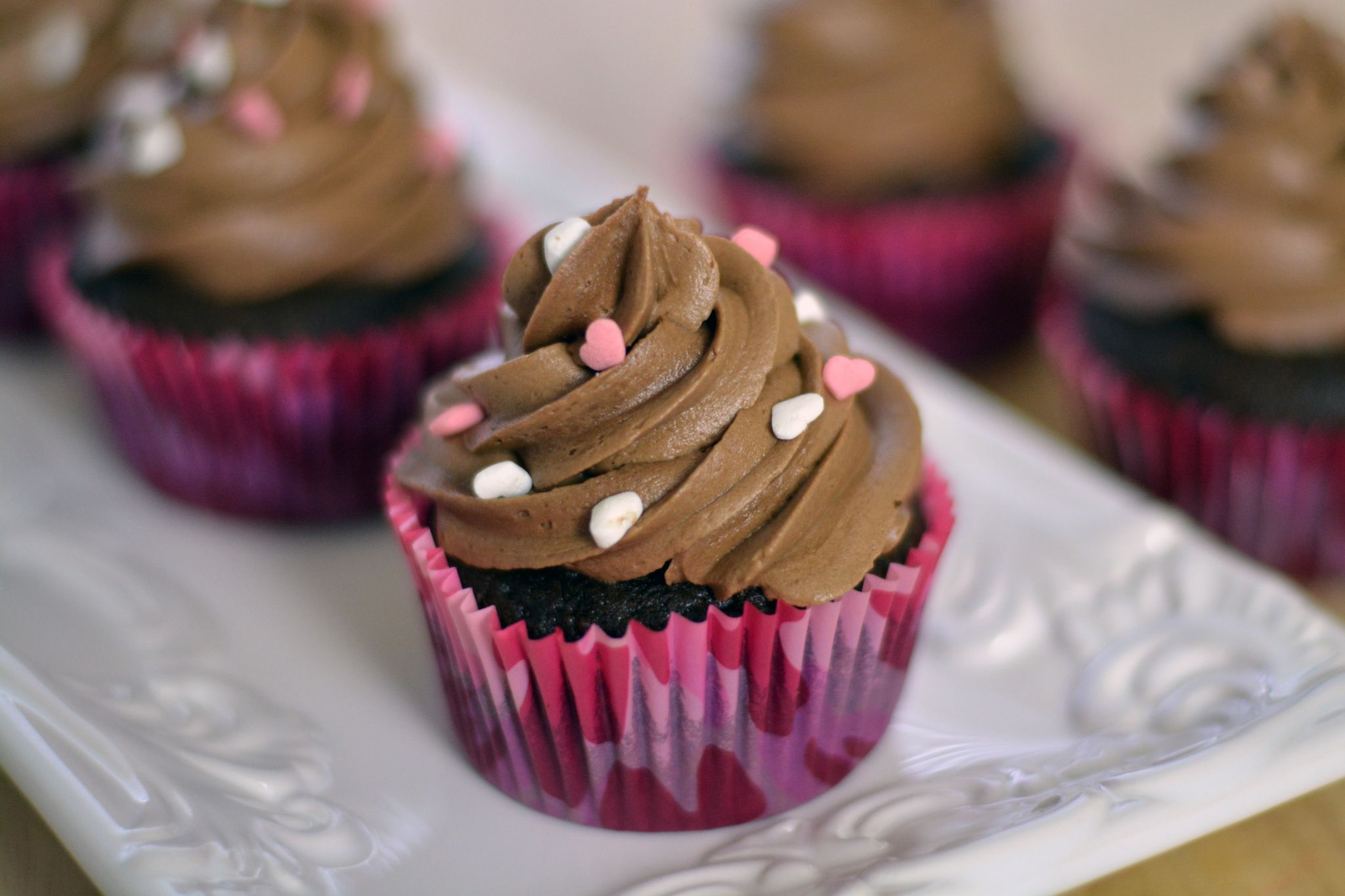 Cupcakes (Pastelitos) de Chocolate