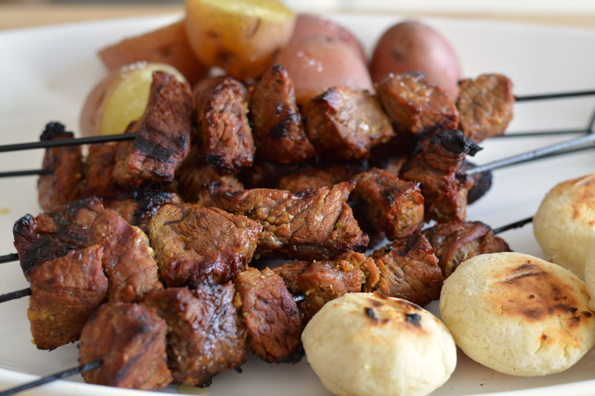 Colombian Beef Kabobs