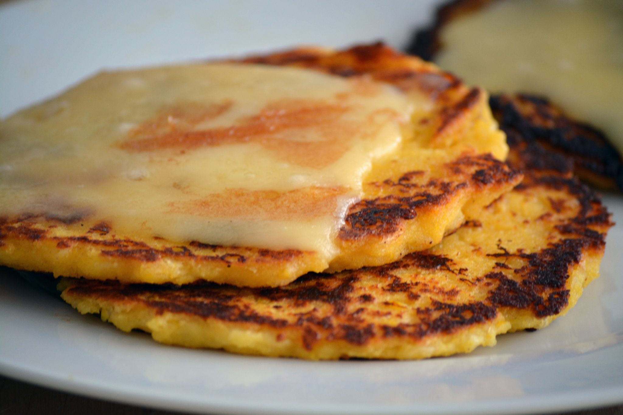 Sweet Corn Arepas