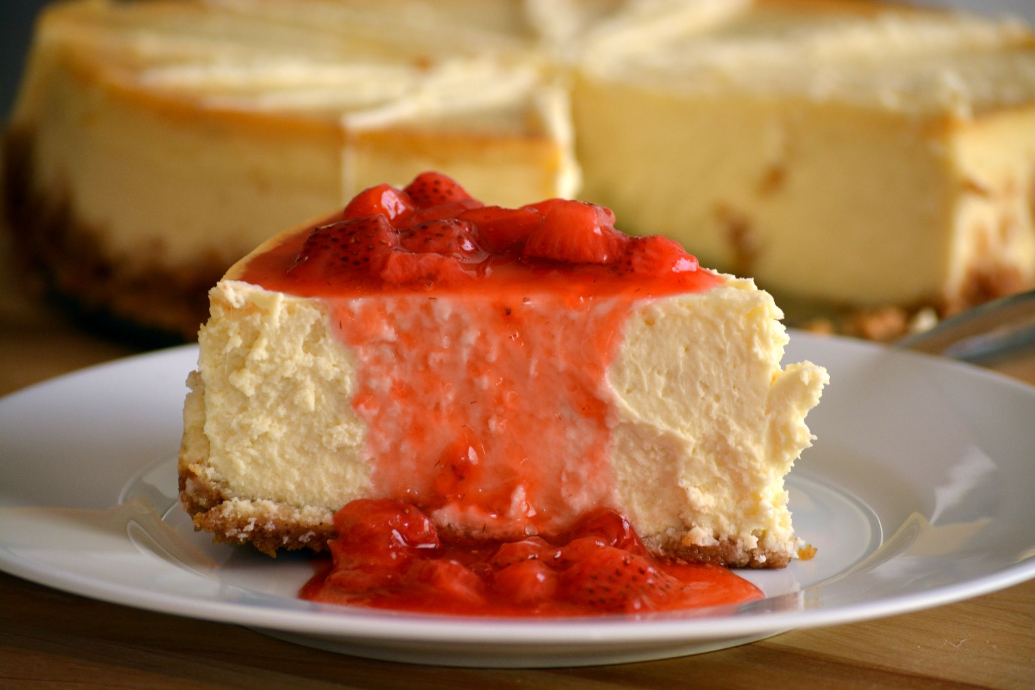 Cheesecake o Pastel de Queso