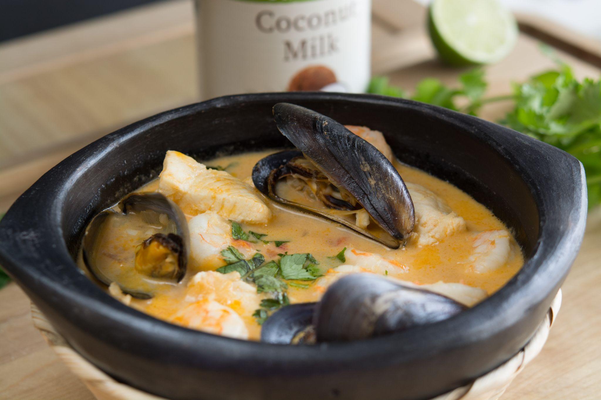 Colombian Seafood Stew (Cazuela de Mariscos)