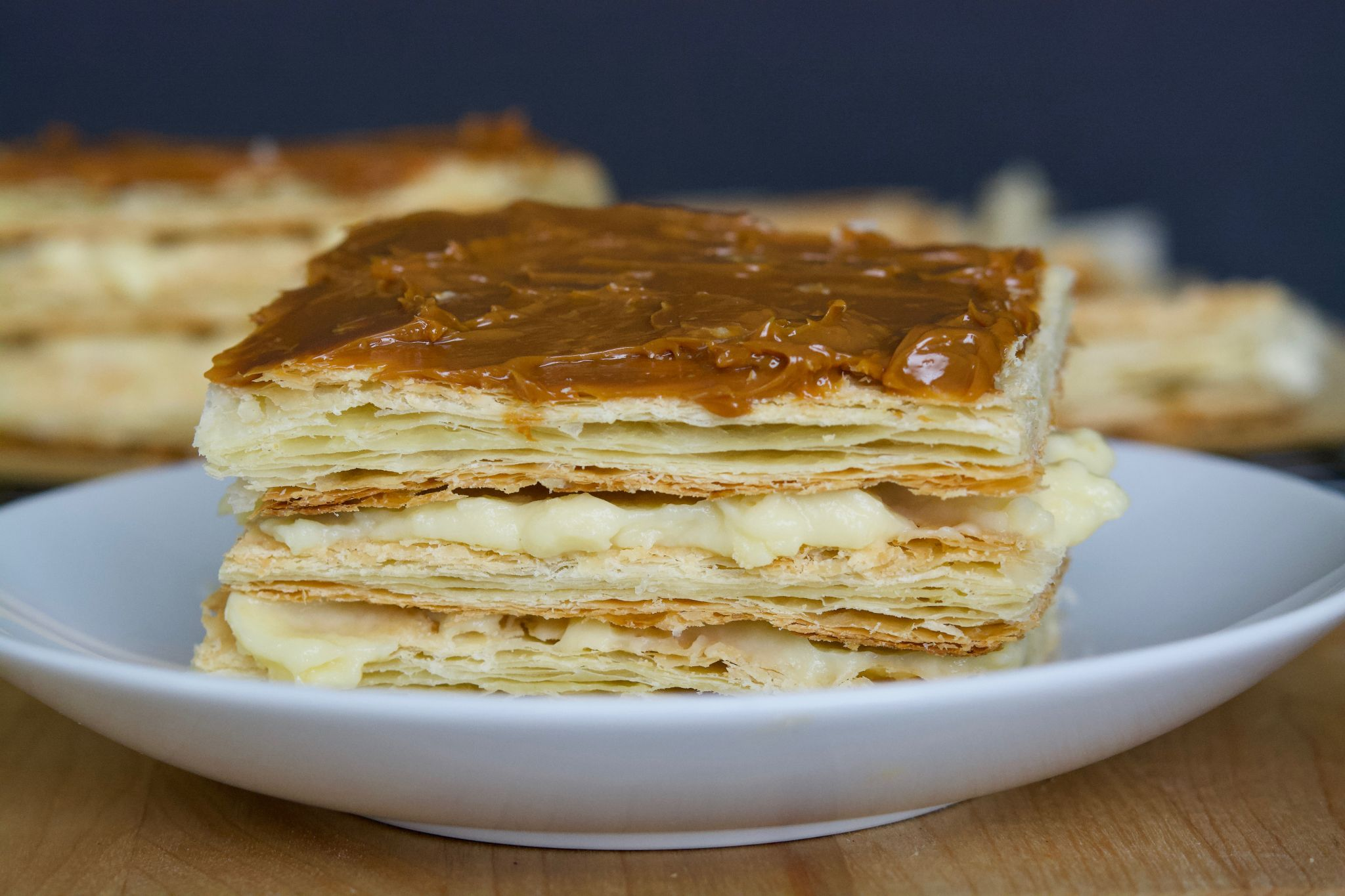 Arequipe or Dulce de Leche Napoleon (Mille-Feuille)